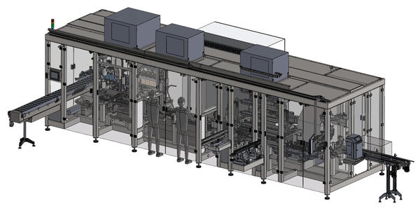 UNISTA - Flexible packaging line - bottle blower - filling - capping machine 3