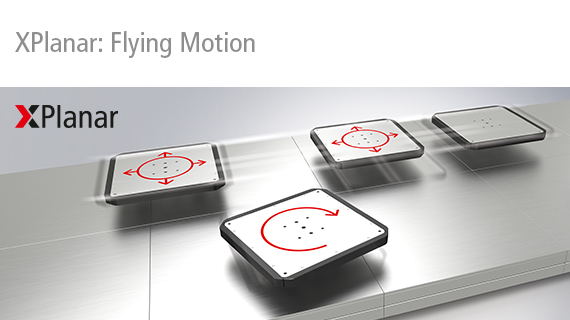 xplanar flying motion beckhoff